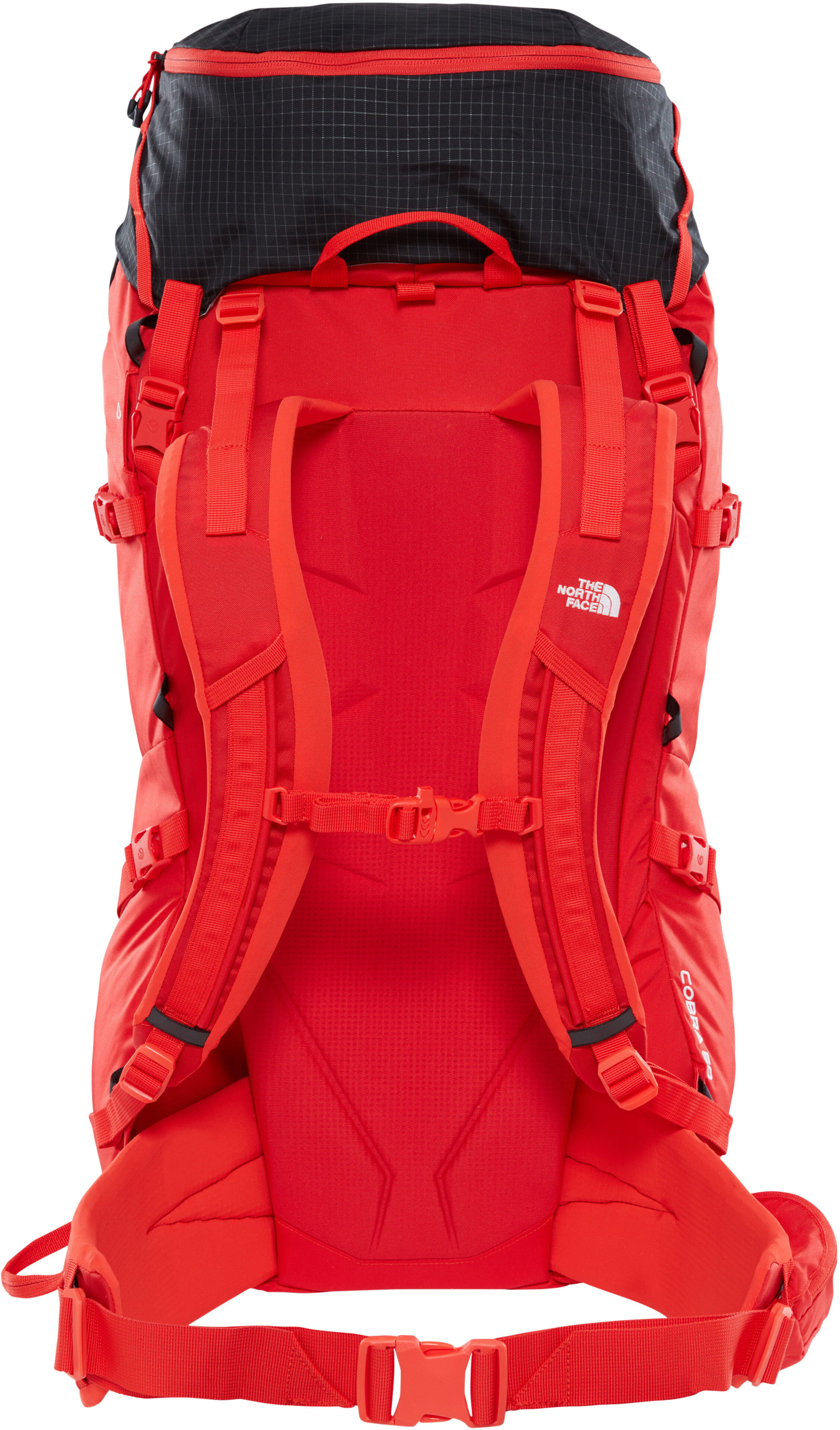 338bb47dd The North Face Cobra 60 Backpack fiery red/tnf black